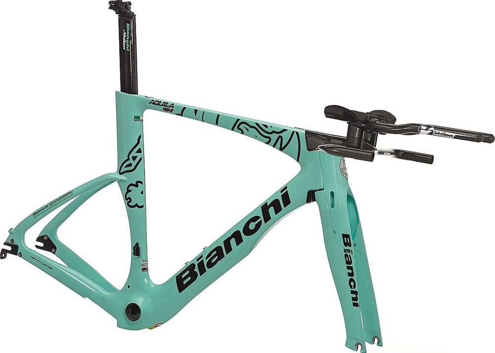 2019 Bianchi Aquila CV Frameset