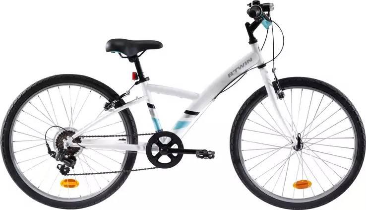 "100 Kids Hybrid Bike - 24"""