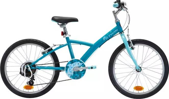 """2020 B'TWIN 120 Kids Hybrid Bike - 20"""""""