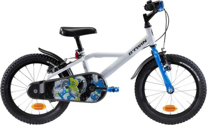 "2020 B'TWIN 500 Astronaut Kids Bike - 16"""
