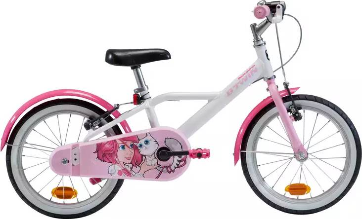 "2020 B'TWIN 500 Doctogirl Kids Bike - 16"""