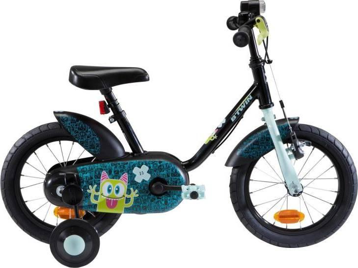 "2020 B'TWIN 500 Kids Bike, Monsters - 14"""