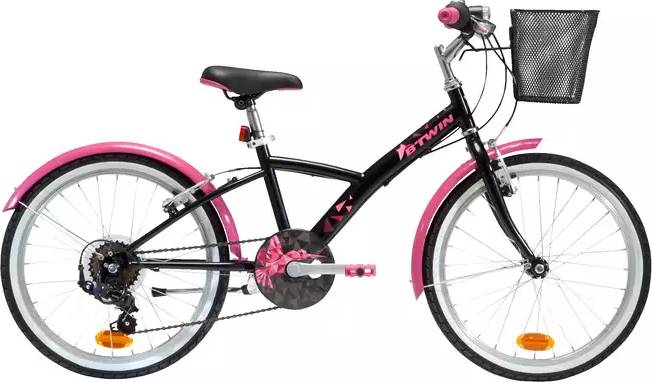 2020 B'TWIN 500 Kids Hybrid Bike - 20""