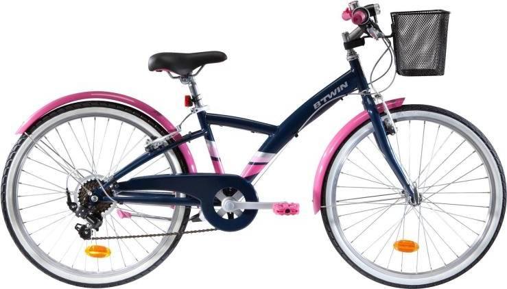 """2020 B'TWIN 500 Kids Hybrid Bike - 24"""""""