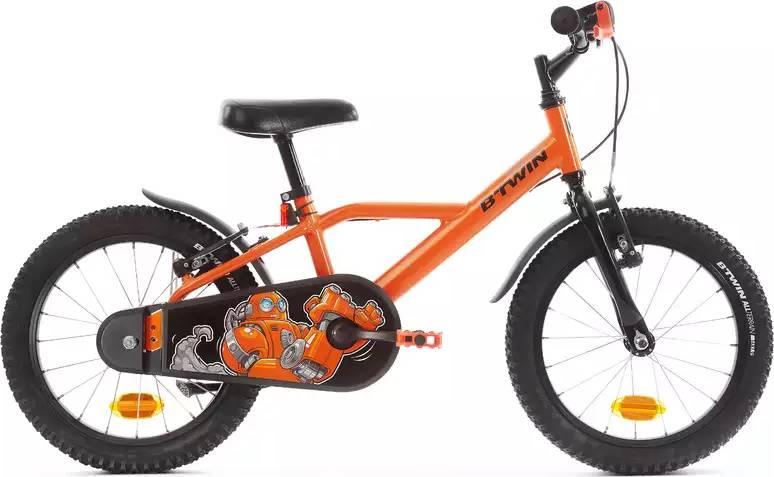 "2020 B'TWIN 500 Robot Kids Bike - 16"""
