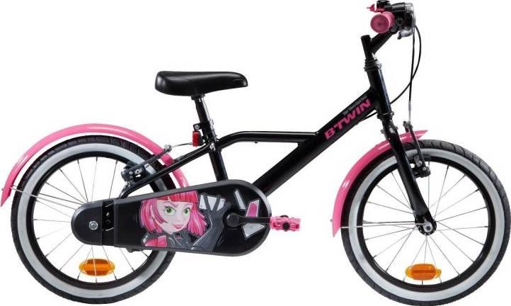 "2020 B'TWIN 500 Spy Hero Kids Bike - 16"""
