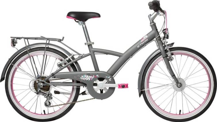 2020 B'TWIN Mistigirl 540 Kids Bike - 20""