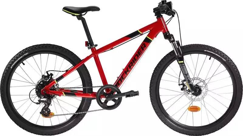 "2020 B'TWIN Rockrider ST 900 Kids Alloy Mountain Bike - 24"""
