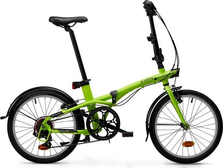 2020 B'TWIN Tilt 500 Folding Bike – 99 Spokes
