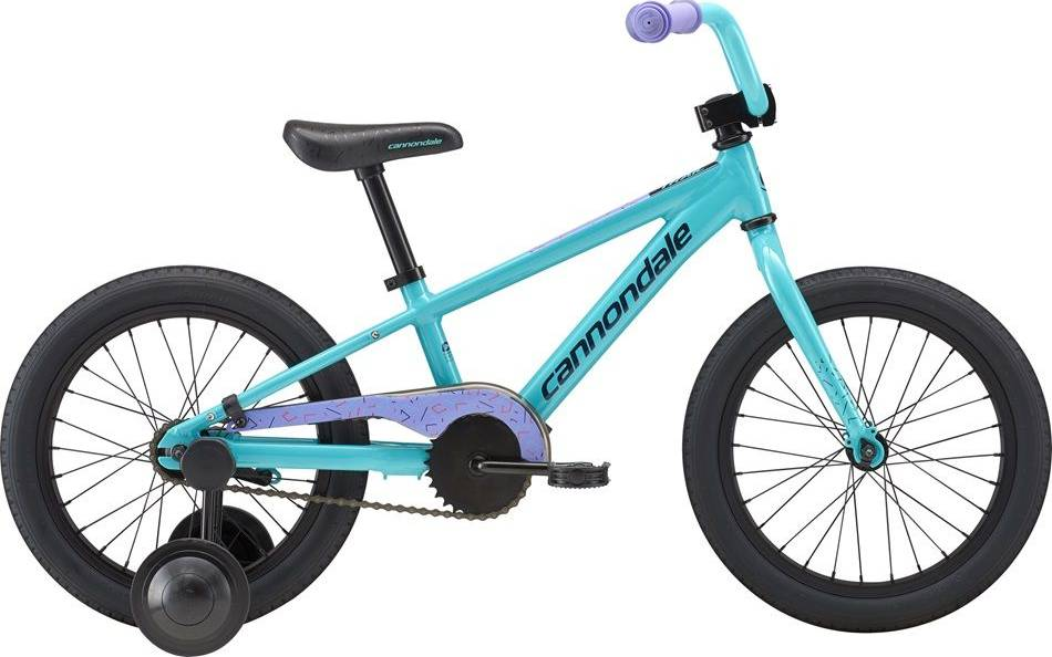 2018 Cannondale Trail 16 Single-Speed Girl's