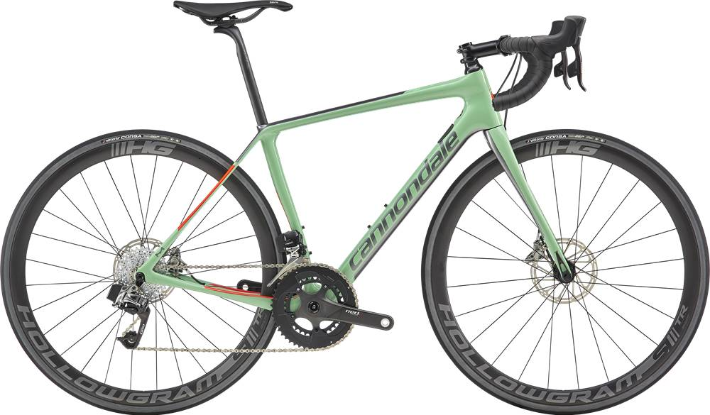 2019 Cannondale Synapse Hi-Mod Disc Women's Red eTap