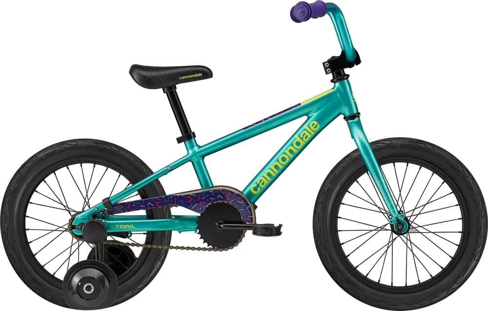 2021 Cannondale Kids Trail Single-Speed 16 Girl's