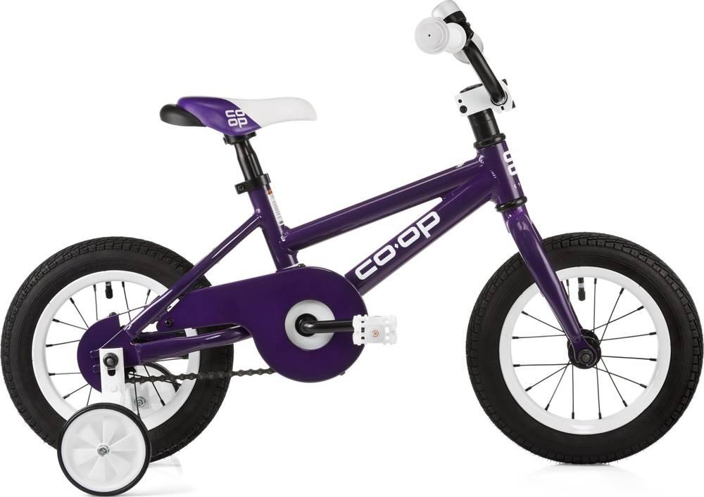 2019 Co-op REV 12 Kids' Bike - Gem Blue