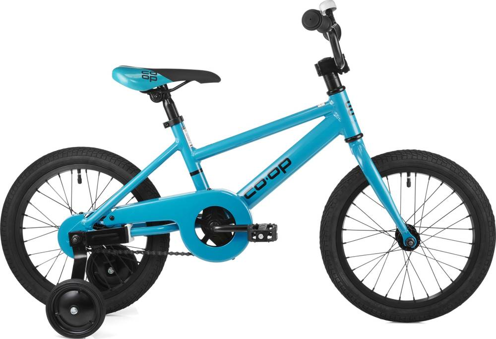 2019 Co-op REV 16 Kids' Bike - Teal Blue