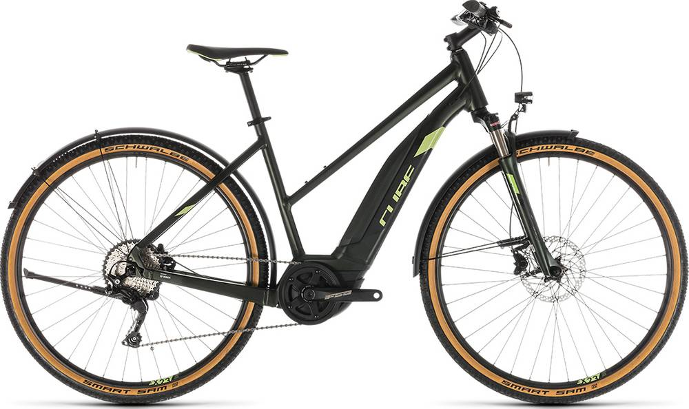 2019 CUBE CROSS HYBRID Exc 500 Allroad Trapeze