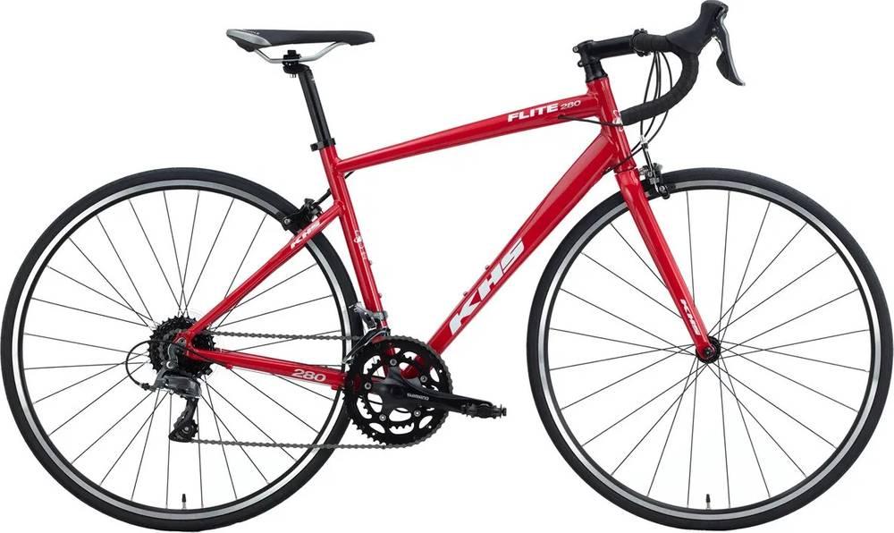 MSRP $819 SM NEW LADIES KHS Flite 280 Road Bike Aluminum Frame Carbon Fork Size