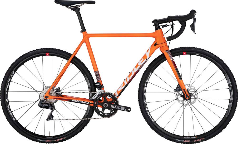 2019 Ridley X-Night Disc - Frame/fork Set