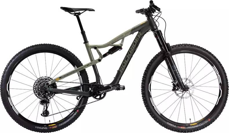 "2020 ROCKRIDER AM 500 S Full Suspension Mountain Bike - 29"""