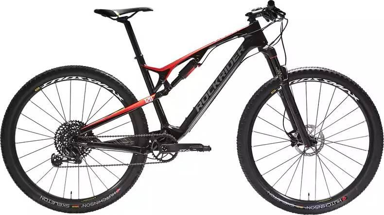 "2020 ROCKRIDER XC 900S Full Suspension Carbon Mountain Bike - 29"""