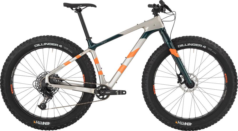 2020 Salsa Beargrease Carbon SX Eagle Silver