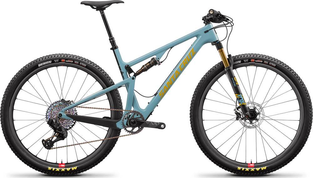 2020 Santa Cruz Blur XX1 AXS Reserve TR / Carbon CC / 29