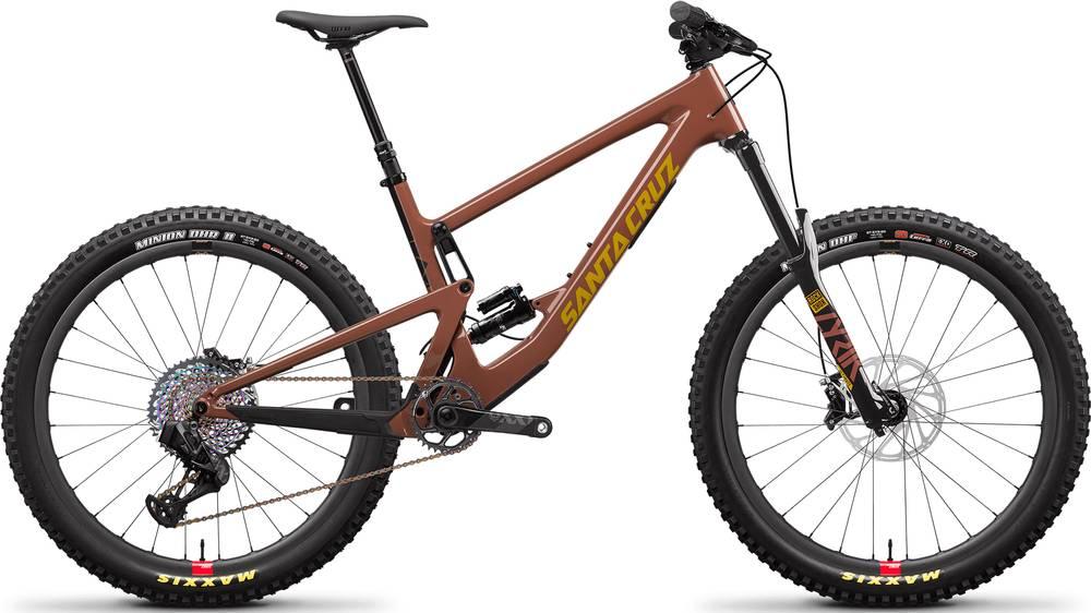 2020 Santa Cruz Bronson XX1 AXS Reserve Plus / Carbon CC / 27.5