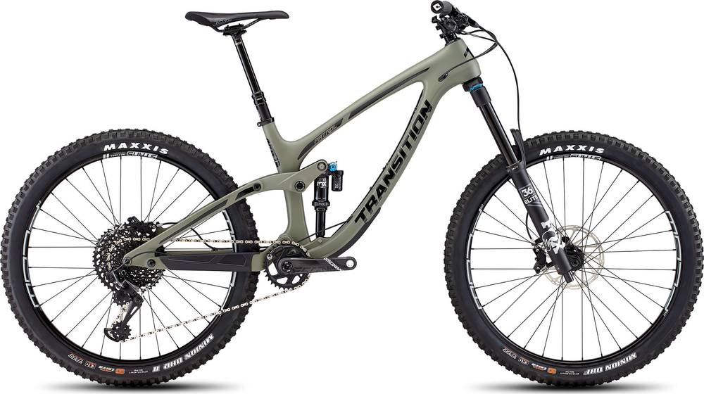 2019 Transition PATROL CARBON COMPLETE XO1